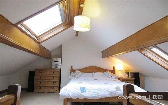 斜顶卧室设计
