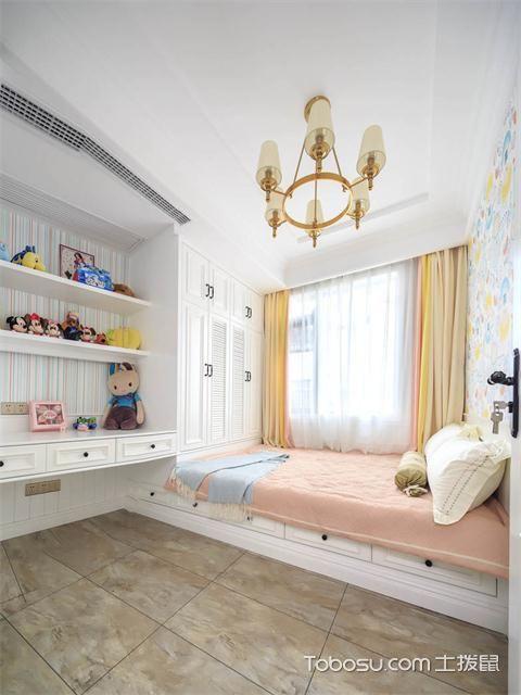 最新89平米美式风格三房两厅装修案例之儿童房