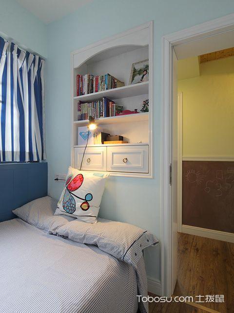 扬州120平米三室两厅田园装修风格储物柜