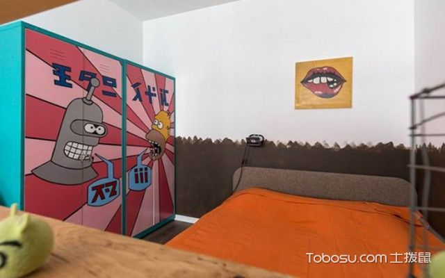 40平米小户型装修设计之卧室