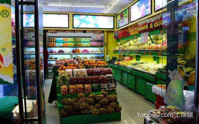 水果店的空间布局