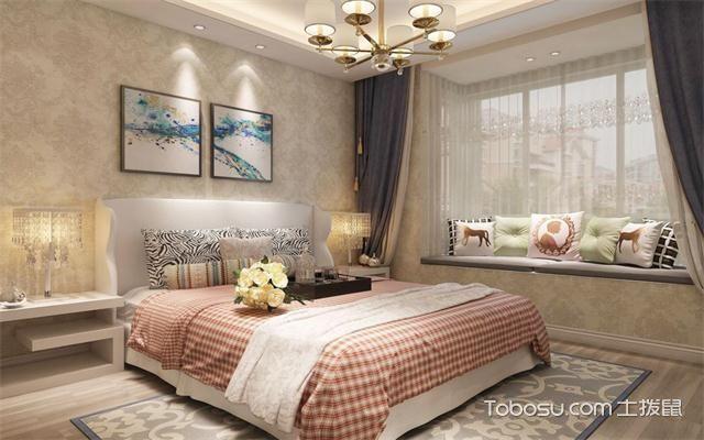 大户型女生卧室装修风水与禁忌之色彩