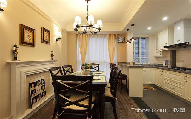 南昌105平米3室1厅现代设计案例之餐厅