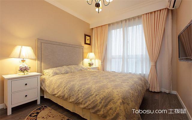 南昌105平米3室1厅现代设计案例之卧室