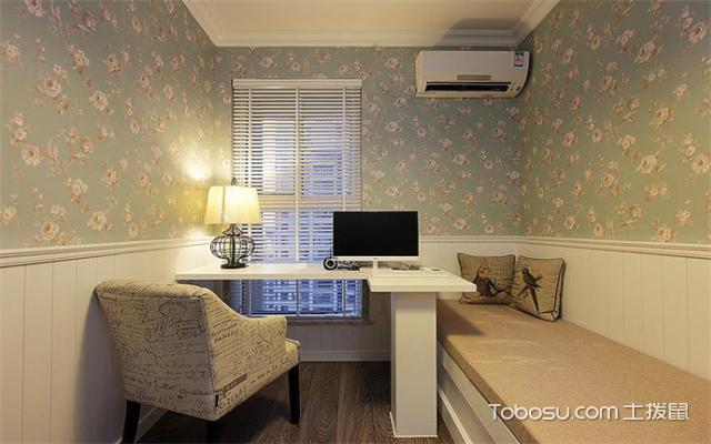 南昌105平米3室1厅现代设计案例之书房