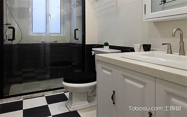 南昌105平米3室1厅现代设计案例之卫生间