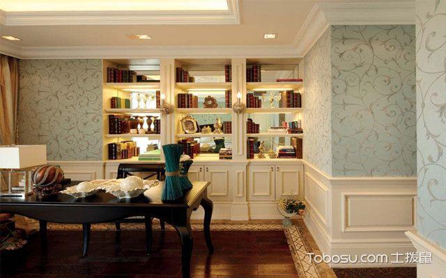 230平米三层别墅设计之书房