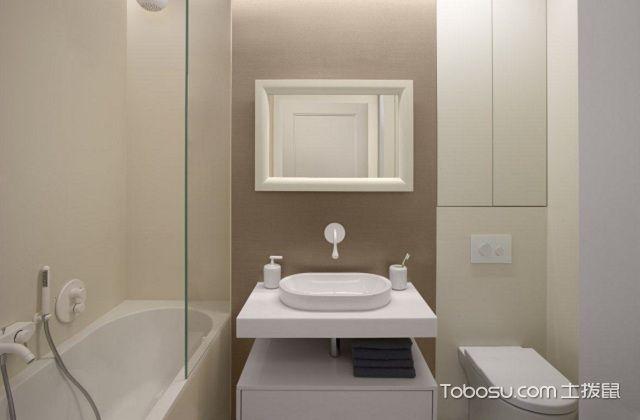 50平米小户型卫生间装修禁忌与风水之避开厨房