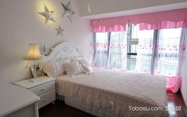 最新大户型粉色公主房效果图 脱俗
