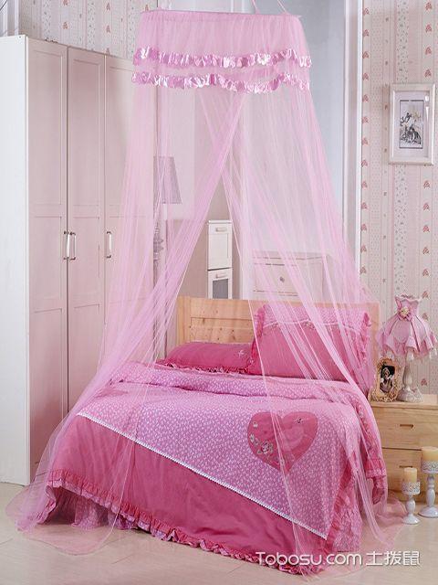 最新大户型粉色公主房效果图 甜蜜