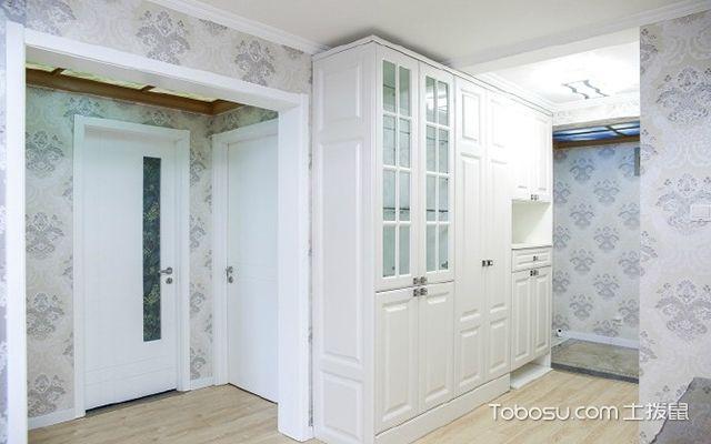 90平米两室一厅拎包入住装修效果图 玄关