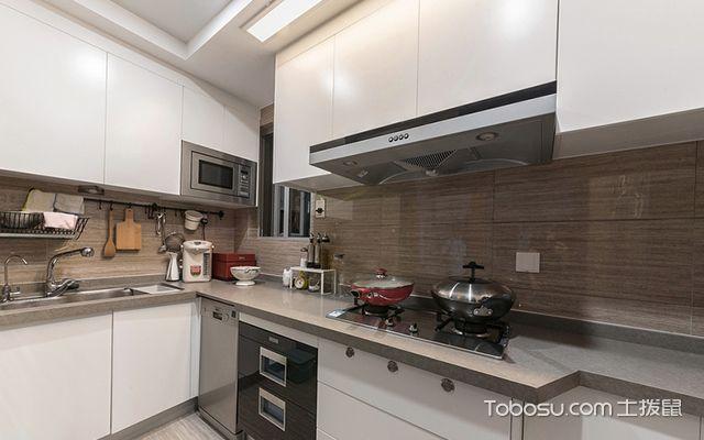 徐州100平米三房优雅美式风格厨房