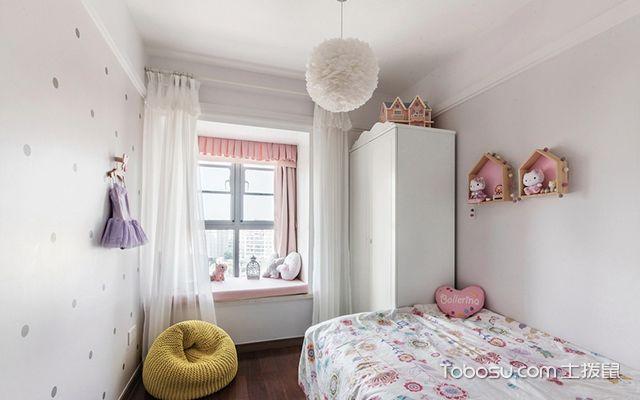徐州100平米三房优雅美式风格儿童房
