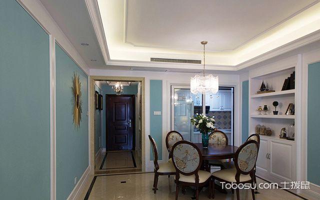 120平四房两厅拎包入住美式家居餐厅