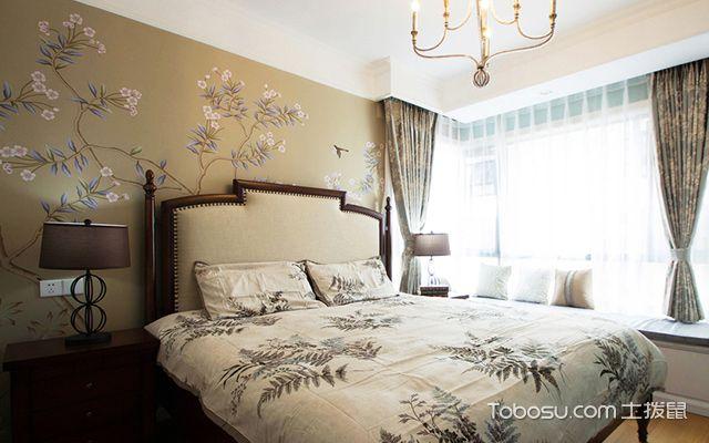 120平四房两厅拎包入住美式家居主卧