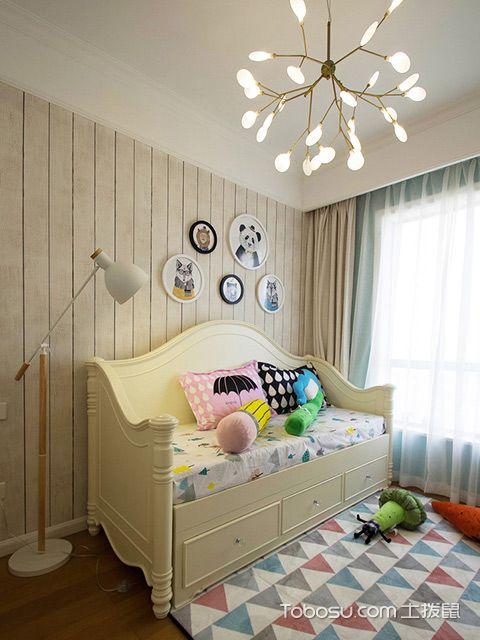 120平四房两厅拎包入住美式家居儿童房