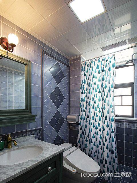 120平四房两厅拎包入住美式家居卫生间