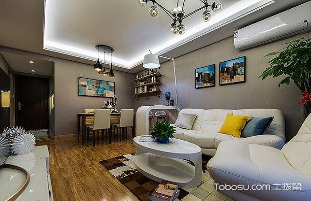 深圳100平米毛坯房半包装修价格之客厅