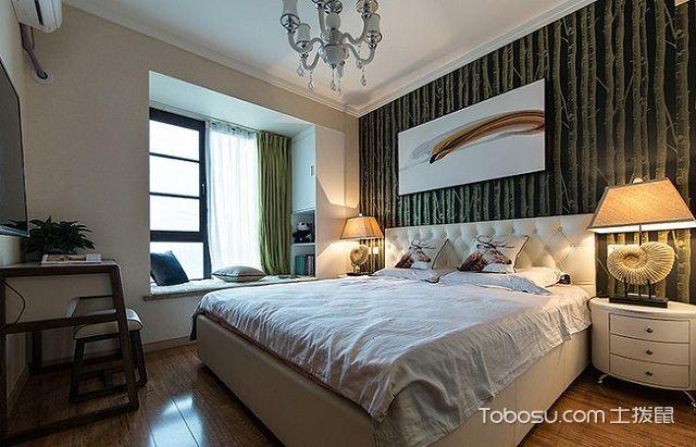 深圳100平米毛坯房半包装修价格之卧室