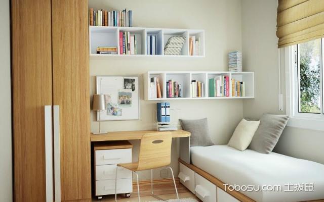 74平米小户型卧室怎么布置好看之床头