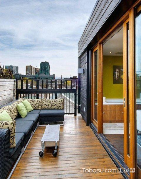 长方形阳台如何设计,长方形阳台设计技巧之书房