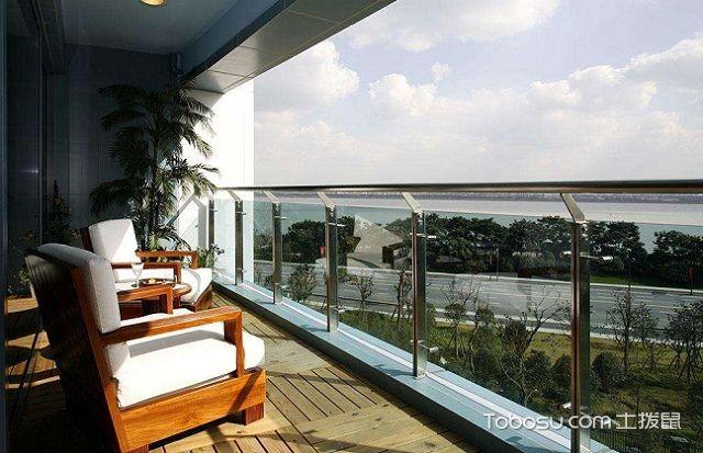 长方形阳台如何设计,长方形阳台设计技巧之空间利用