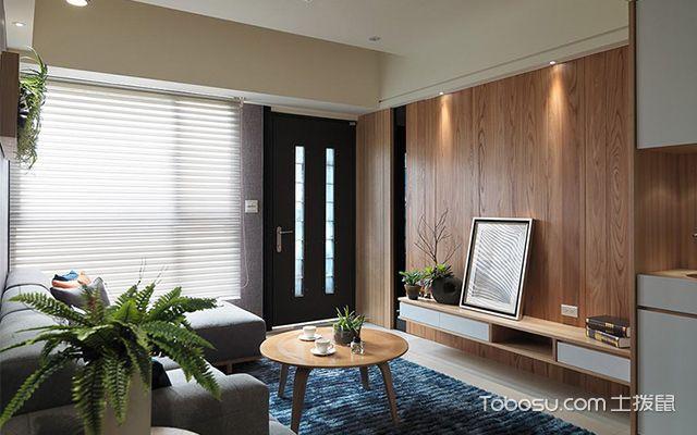 杭州小户型66平单身公寓简约装修图客厅设计