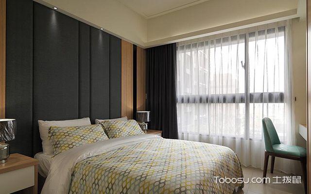 杭州小户型66平单身公寓简约装修图主卧设计