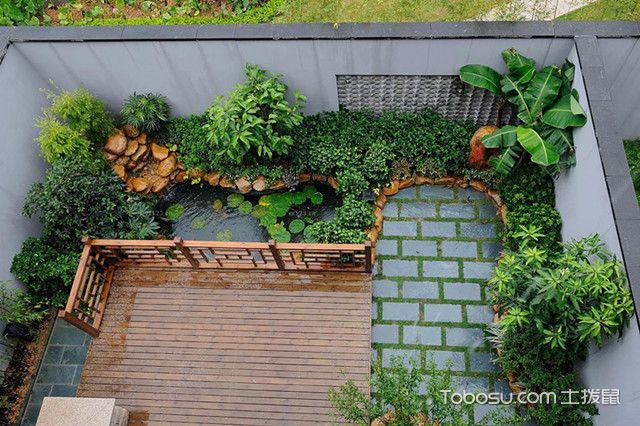 庭院小花园设计效果图