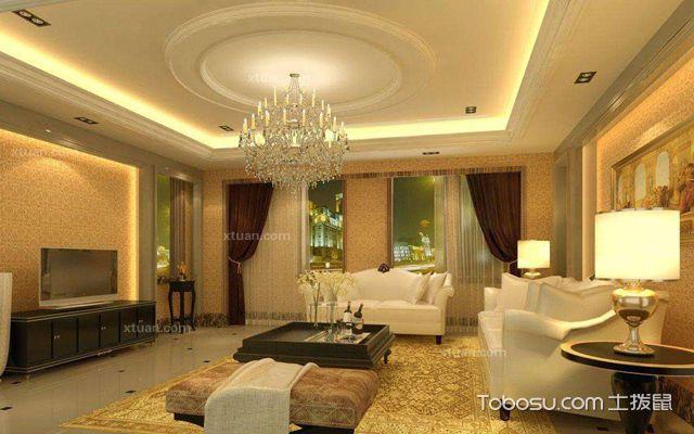 客厅吊顶灯--大小与外形