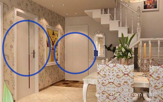 毛坯房装修室内门怎么选购好卫生间门