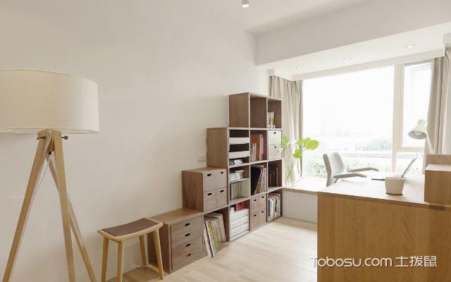 风格迥异的四款书房设计案例之简约风