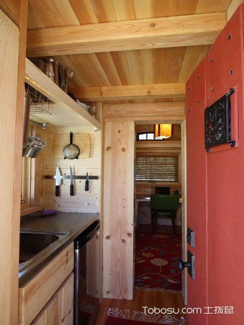 小户型厨房吊顶 清新