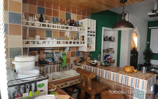 小户型厨房吊顶 可爱
