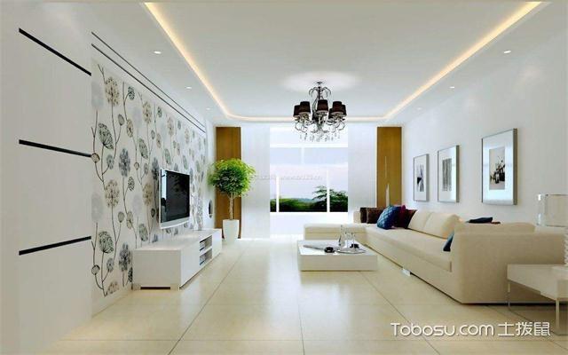 小户型客厅装修黄金比例之客厅