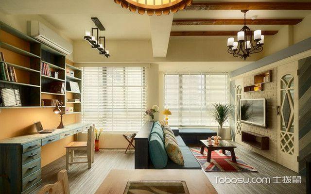 86平一室一厅装修图片客厅