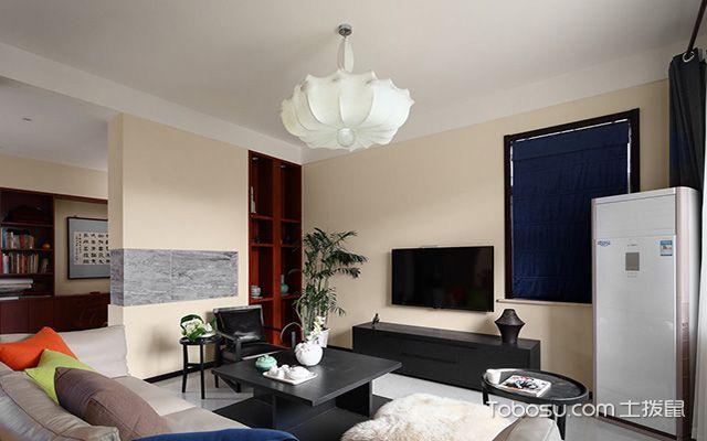 新中式吊灯装修设计图之白色吊灯