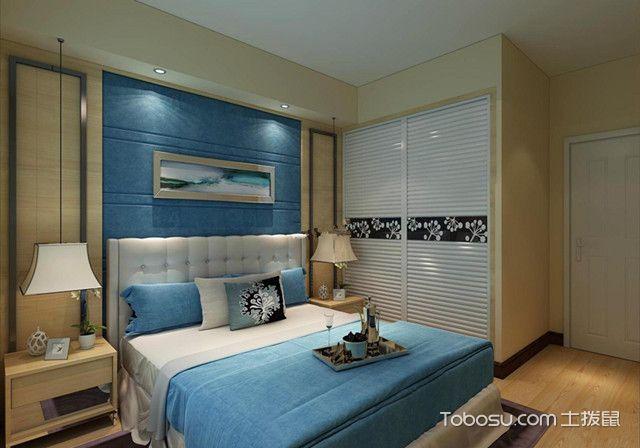 卧室清新简约风格装修温馨原木