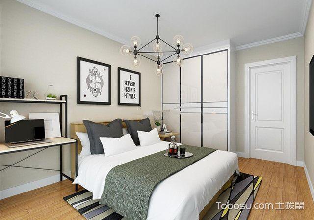 卧室清新简约风格装修明朗开阔