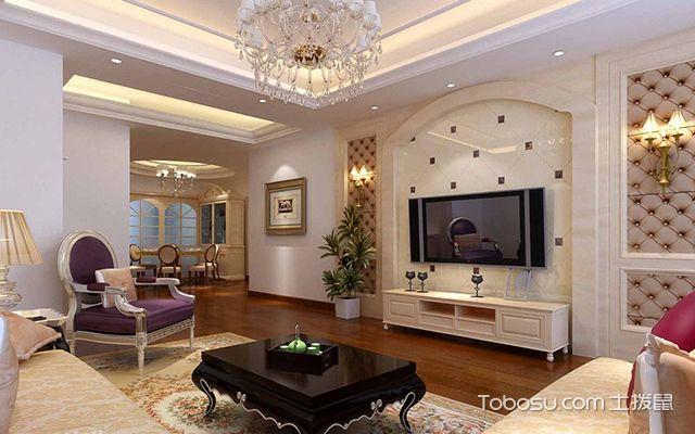 电视墙装修风水禁忌之装饰物选择