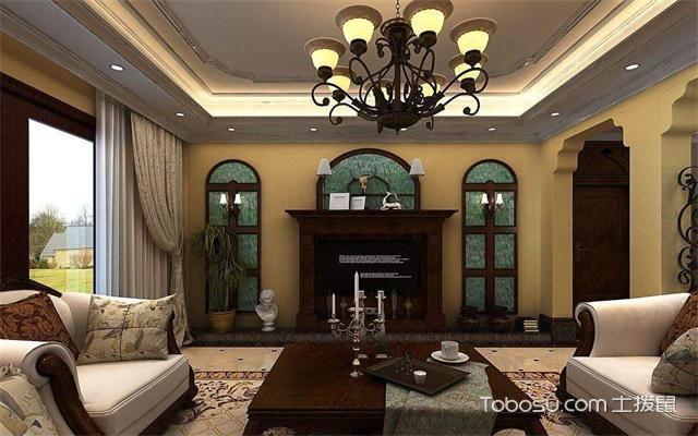 最新欧式客厅主题墙装修效果图电视墙