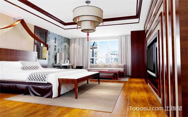 卧室吊灯选择什么尺寸之中式风格