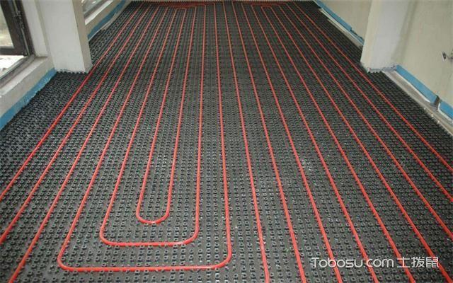 大户型地暖铺贴效果图之钢丝网