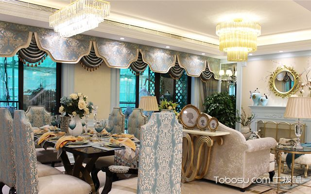 法式风格装修设计特点之高贵典雅