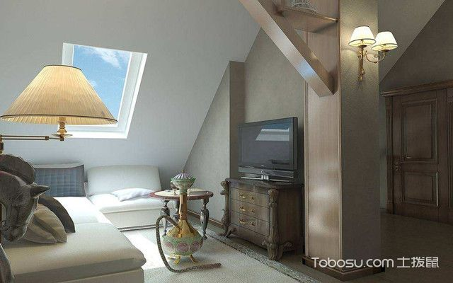 低矮斜顶阁楼装修设计图之装修风格