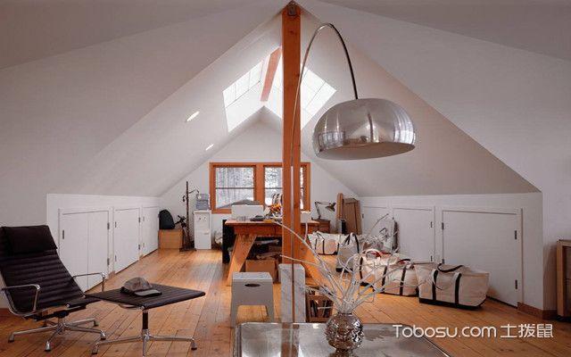 低矮斜顶阁楼装修设计图之空间设计