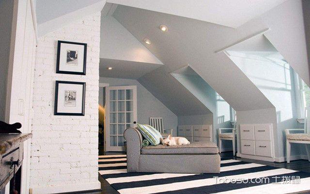 低矮斜顶阁楼装修设计图之家具选择