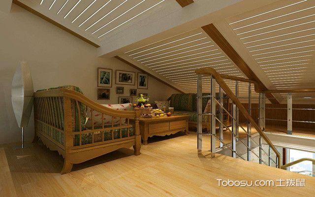 低矮斜顶阁楼装修设计图之注意事项