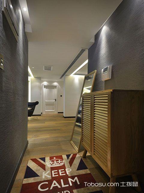 135平米三室两厅装修设计方案 玄关