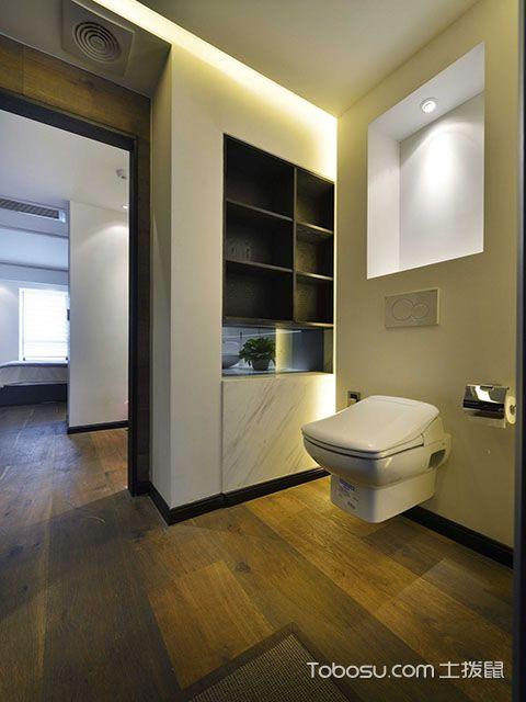 135平米三室两厅装修设计方案 卫生间